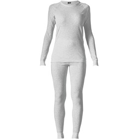 Maier Sports Lena Baselayer Set Women, silver melange